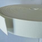 Ластик Плосък 3 см бял