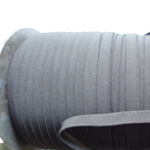 Ластик Плосък 1 см черен