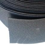 Ластик Плосък 6 см черен