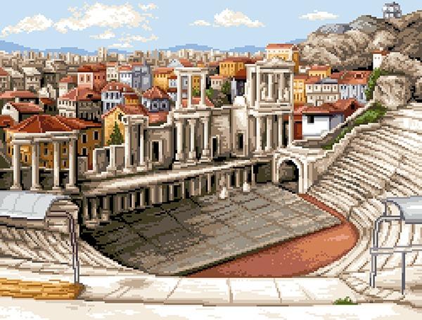 Античен театър 1:4