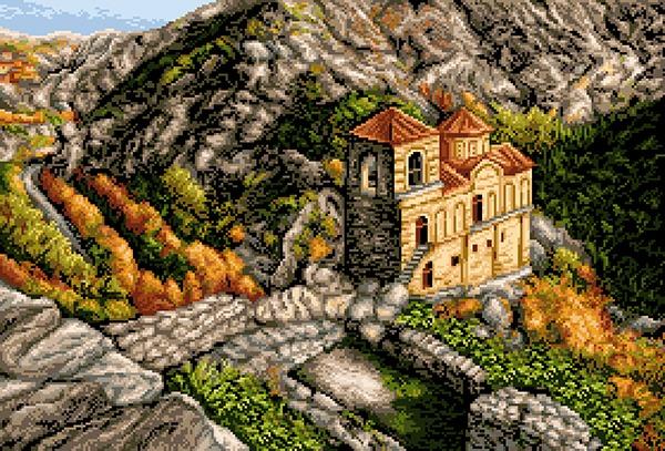 Асенова крепост (2) 1:1