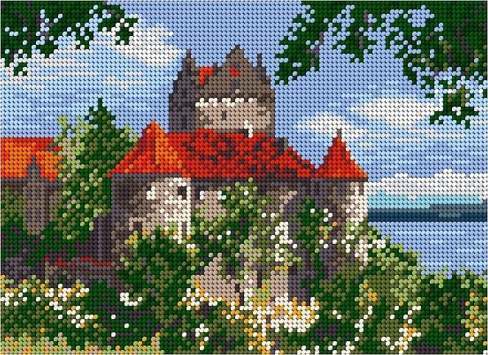 Замъкът Мерсбург 1:4