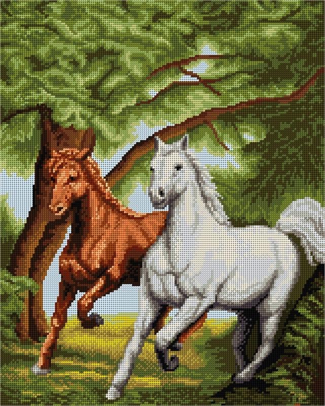 Бягащи коне 1:1 / 1:4