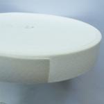 Ластик Плосък 2,5 см бял