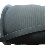Ластик Плосък 1,5 см черен